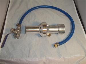 WATER INDUCTION BLAST NOZZLE